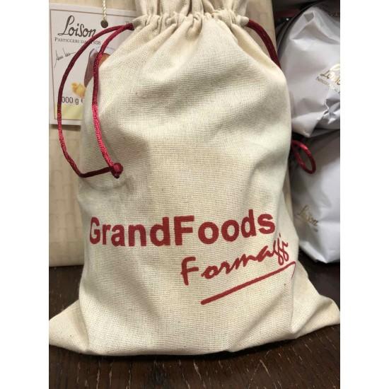 Grand Foods торбички с връзка и щампа