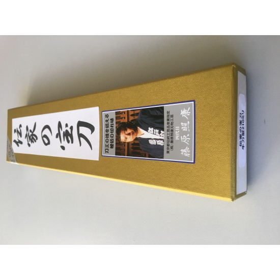 TSAS-WGY210 GYUTO KNIFE [DENKA] Western handle