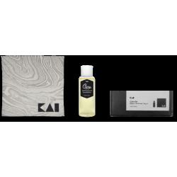 KAI 45500610 Camellia Oil 100 ml  Коплект грижа за ножа