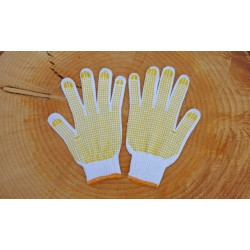 ZDGT 12 Japanese cotton work gloves with anti slip