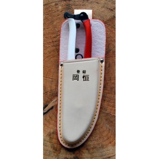 KST133 Кожен калъф Okatsune 133 за ножици 103 и 104