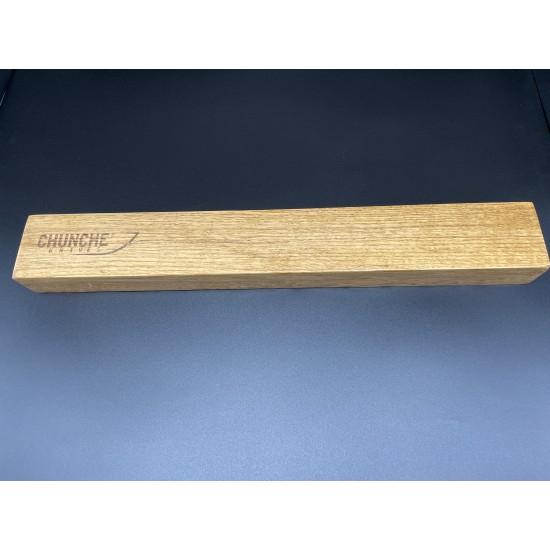 WKB 45x6x4 см  Стойка за ножове с вградени магнити ДЪБ  CHUNCHE