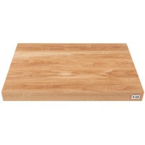 KAI DM-0789, KAI CUTTING BOARD, OAK, WITH NON-SLIP RUBBER FEET, 39,0/ 26,0/ 3,6 cm L/W/H